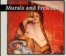 Murals, Frescoes and Portraits